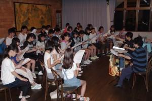 2014.8.4~6 合宿(白樺湖):譜読み