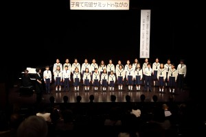 2014.5.31 子育て同盟サミットinながの歓迎イベント(小中学生)