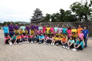2014.8.9 お城deハーモニー(松本城公園)