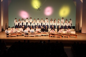 2014.10.12 和楽器のオーケストラ「むつのを」出演(キッセイ文化ホール)