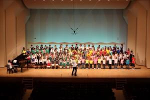 2014.5.18 合唱祭:アトリエ(小学生)