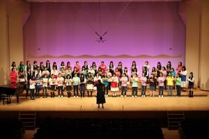 2014.5.18 合唱祭:アトリエ(高校生女子)