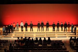 2014スプリングコンサート:OBと一緒にボーイズのステージ